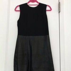 Leather / Mix Theory Dress